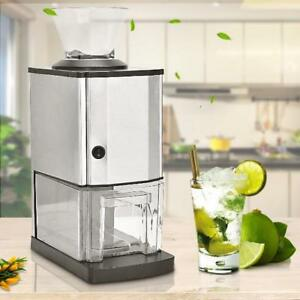 Electric Ice Crusher Shaver Maker Machine Pro Tabletop Kitchen Appliances Makers