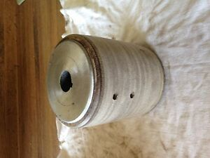 New Flat Belt Paper Pulley 4 Od X 4 Face X 1 2 Bore With Kw