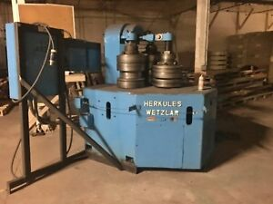 Herkules Wetzlar Model B0232k 20hp Mechanical Angle Bending Roll New 1968