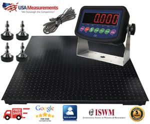 Robust Floor Scale 9 450 Lb X 5 Lb 40 X 40 Pallet Warehouse With Indicator