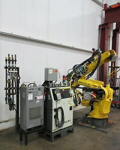 Fanuc 6 axis Heavy Duty Robot Control System Used Am15644