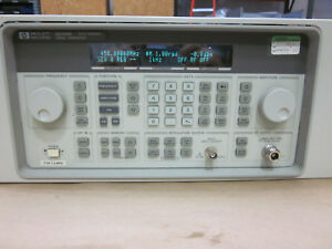 Hp 8648b Synthesized Signal Generator 9 Khz To 2000 Mhz