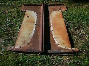 50 51 52 Ford Pu Truck Bed Sides Hot Rat Rod Flathead V8