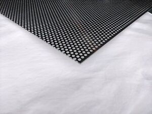 Perforated Metal Aluminum Sheet 125 1 8 Gauge 24 X 36 1 4 Hole 3 8 Stagger