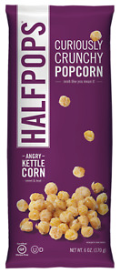 Halfpops Angry Kettle Corn Curiously Crunchy Popcorn 4 5oz pack Of 12
