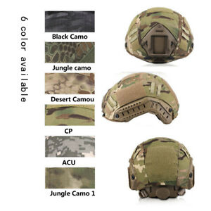 Tactical Airsoft US Fast Helmet Cover Military Army Camouflage Airsoft Paintball