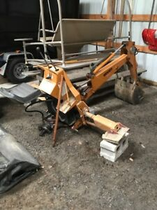 Woods 650 Backhoe Attachment For 3 Point Hitch And Pto