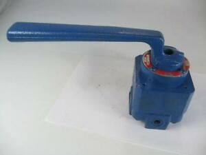 Teledyne Republic R8011 3 4hs2 Hydraulic Control Valve 3 4 Npt For Winches Etc