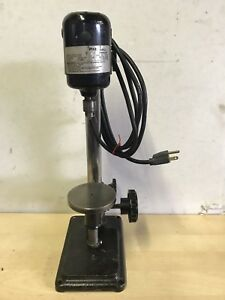 Dumore Miniature Hi speed Sensitive Drill Press 16 021 Serial 8226