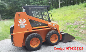 Daewoo Dsl601 Skid Steer Loader Low Hours