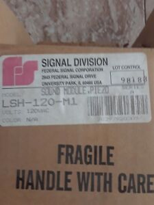 Lsh 120 m1 Federal Signal Division Alarm Sound Module Horn New In Box