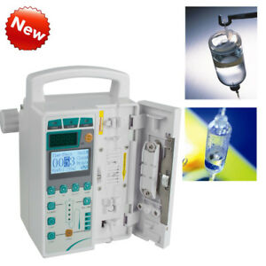 Us Medical Tender Syringe Pumps Alarm Machine Accuracy Injection Drop Feed New