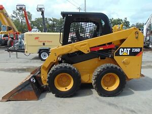 2015 Cat 236d Turbo New Tires Heated Seat Self Leveling Option
