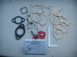 Vw Solex Carburetor Re Build Kit Beetle Ghia Bus 30 34 Pict Carb Kits