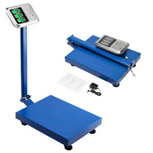 Heavy Duty 660lb 300kg Digital Weight Price Computing Scale Lcd Floor Platform
