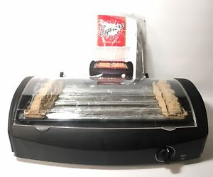 Hot Dog Express Rotary Personal Sized Grill With Instruction Manual New