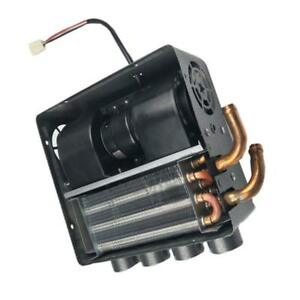 12v Universal Double Side Iron Compact Heater Heat W Speed Switch Defroster