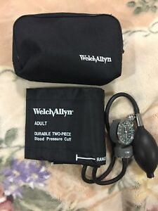 Welch Allyn Sphygmomanometer Blood Pressure Gauge Adult Cuff New
