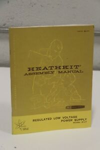 Keathkit Assembly Manual Ip 27 Regulated Low Voltage Power Supply
