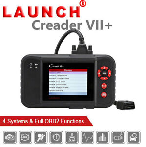 Launch X431 Creader Vii Auto Diagnostic Tool Obd2 Code Reader Scanner As Crp123