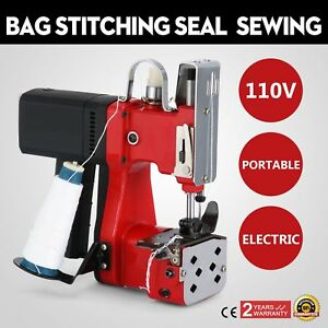 Electric Bag Sewing Machine Sealing Machines Equipment Sack Closer Tool Good