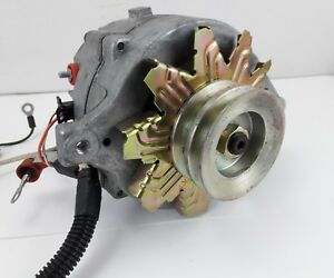 Ford Alternator For 390 70ae3tfab Double Groove Pulley Wire Harness nos