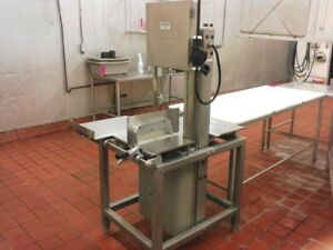 Hobart Meat Saw 3hp Safety Featurs 230v 3ph Model 6614