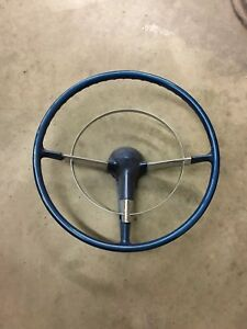Vintage 1955 1956 Chevy Belair Steering Wheel