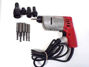 Milwaukee Screw Gun Model 6543 1 With Extra Accessories Free Shipping