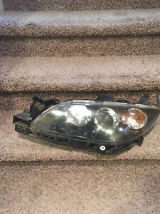 2004 2005 2006 2007 2008 2009 Mazda 3 Lh Driver Headlight Oem 225