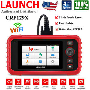Launch Obd2 Diagnostic Scanner Crp129x Code Reader Abs Srs Engine Tool Oil Epb