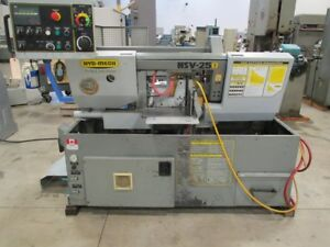 Hyd mech Model Hsv 250 Automatic Horizontal Saw 10 X 10