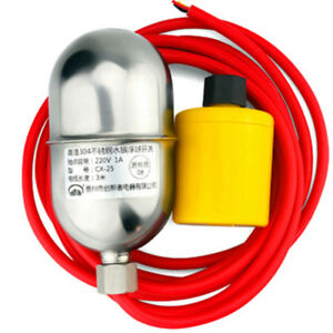 High Temperature Stainless Steel Mercury Float Switch Level Water Switch 170