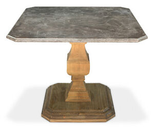 39 X 30 Blue Stone Top Restaurant Bistro Pub Bar Table awesome