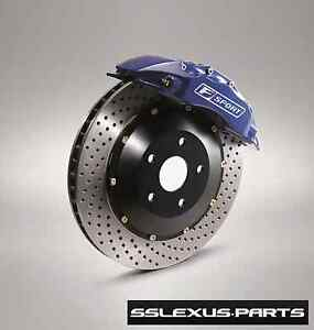Lexus Is250 F sport Performance Big Front Brake Kit Oem Ptr09 53108