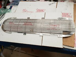 1962 Corvette Chrome Front Grill New Grille Chrome Plated