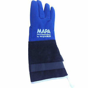 Mapa Cryoplus 2 0 Waterproof Cryogenic Gloves Leather Safety Cuff 15 l Size