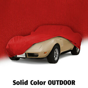 1968 1982 Corvette C3 Outdoor All Weather Red Car Cover W Bag 620079