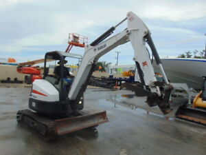 2014 Bobcat E35 Mini Excavator 7 500 Lbs 2 Speed Only 1 705 Hours Plumbed