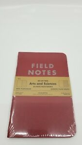 Field Notes Arts And Sciences summer 2014 New Sealed 2 pack