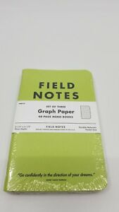 New Sealed Field Notes Rare Flagged By Ellen Green Edition With Thoreau Quote