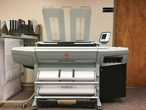 Canon oce Colorwave 300 Largeformat Color Plotter Scanner Copy Blueprint Printer