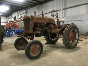 1948 Farmall Cub Gasoline Tractor Ie Ih International Tractor Gas