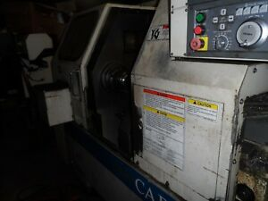 Okuma Lathe Machine Runs Good Osp700l Clean Inside