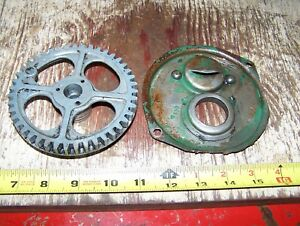 Old Fairbanks Morse Zd Magneto Gear Dust Shield Hit Miss Gas Engine Steam Oiler