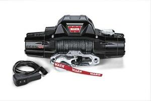 Wrn89611 Zeon 10000lb Winch Spydura Synthetic Rope