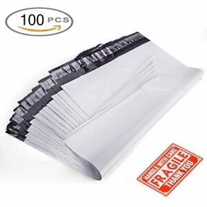9x12 Poly Mailers 100 Shipping Envelopes Self Seal Plastic Mailing Bags 2 5 Mil
