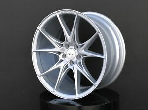 Inovit Speed Wheels Rims 19x8 5 Inch Silver For Acura Rsx Tsx Ilx Tl Cl Type S