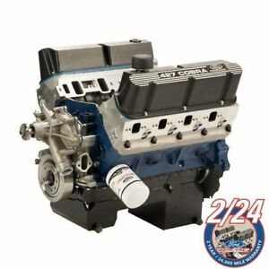 Ford 427 Cubic Inch 535 Hp 545 Lb Ft Torque Crate Engine M 6007 z242frt