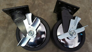 Snap on Swivel Casters Pn 8 28039 900lb Capacity Per Caster Set Of Two